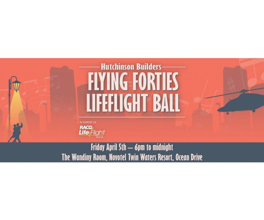 Hutchinson Builders Flying Forties Lifeflight Ball
