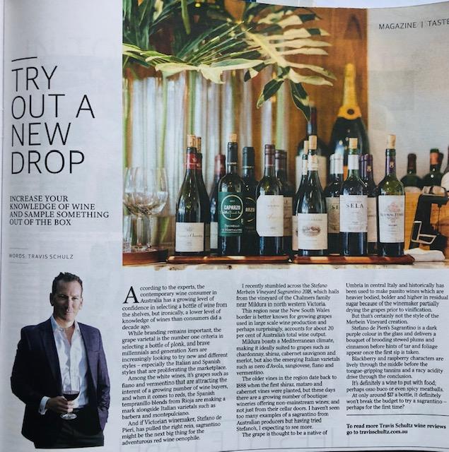 Travis Schultz Wine Review